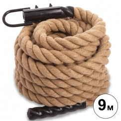 Канат для кроссфита COMBAT BATTLE ROPE FI-0910-9 (l-9м,d-5см)
