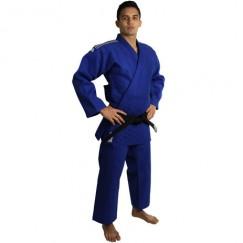 Кимоно для дзюдо Adidas Champion 2 Slim Fit с лицензией IJF (синий/белые полосы, J750B SF)