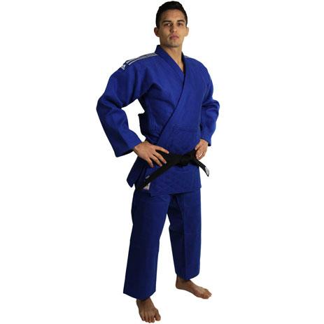 Кимоно для дзюдо Adidas Champion 2 Slim Fit с лицензией IJF
