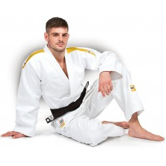 Кимоно для дзюдо Green Hill Professional IJF (белое)