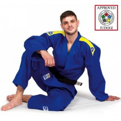 Кимоно для дзюдо Green Hill Professional IJF (синее)