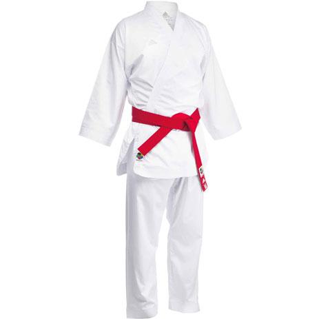 Кимоно для карате Adidas Adizero (белый, K0) с лицензией WKF