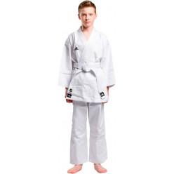 Кимоно для карате Adidas Club (белый, K220C) с лицензией WKF