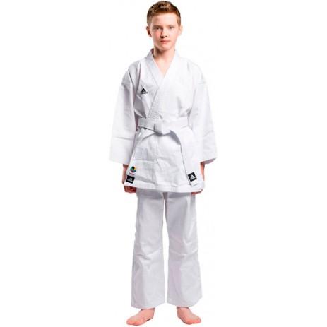 Кимоно для карате Adidas Club (белый, K220C)