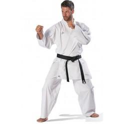 Кимоно для карате Adidas Kumite Fighter (белый, K220KF) с лицензией WKF