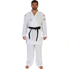 Кимоно для карате Smai Jin Kumite Gi Elite Premier League WKF (красные полосы на плечах)