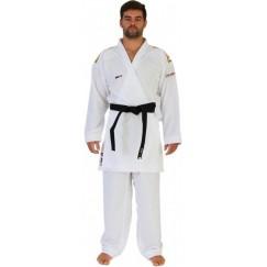 Кимоно для карате Smai Jin Kumite Gi Elite Premier League WKF (золотые полосы на плечах)