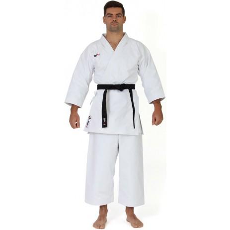 Кимоно для карате ката Smai Ultimate Gi 14 oz с лицензией WKF (белый)