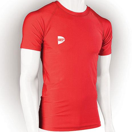 Компрессионная футболка Green Hill