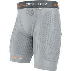 Компрессионные шорты с протекторами Shock Doctor