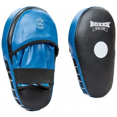 Лапы боксерские прямые Boxer (кожа)