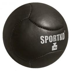 Мяч медбол Sportko (кожа)