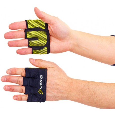 Накладки атлетические (грипад) для поднятия веса WorkOut FI-8038