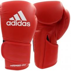 Перчатки боксерские Adidas Speed 501 Adispeed Strap up (красный, ADISBG501)
