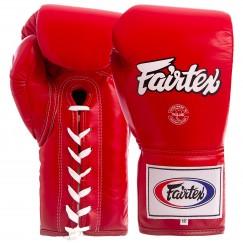 Боксерские перчатки кожаные професиональные FAIRTEX BGL6