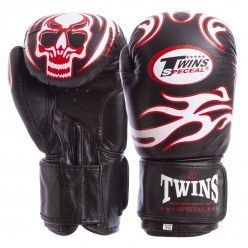Перчатки боксерские кожаные Twins MA-5436