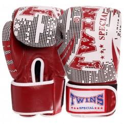 Боксерские перчатки кожаные TWNS VL-2066