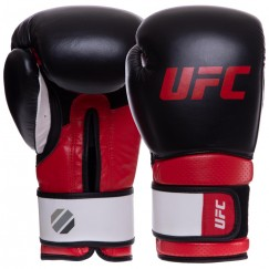 Боксерские перчатки кожаные UFC PRO Training UHK-69989 (12 унций)