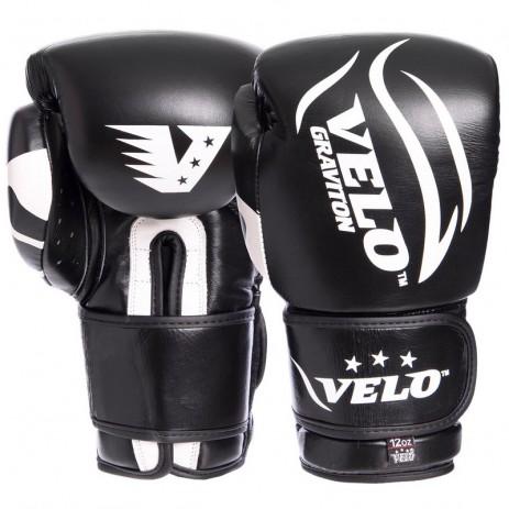 Боксерские перчатки кожаные VELO VL-2208