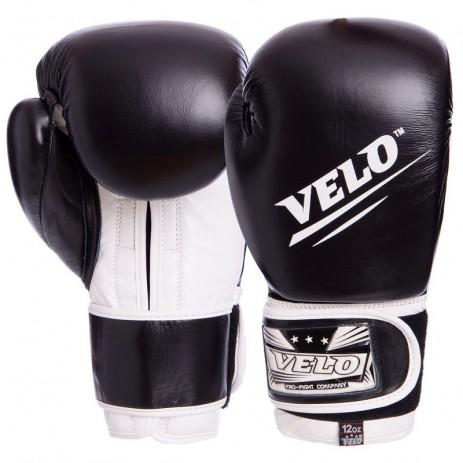 Боксерские перчатки кожаные VELO VL-2210