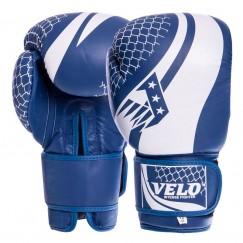 Боксерские перчатки кожаные VELO VL-2224