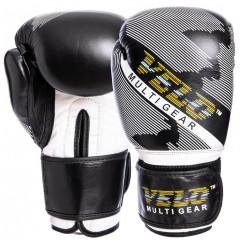 Боксерские перчатки кожаные VELO VL-2229