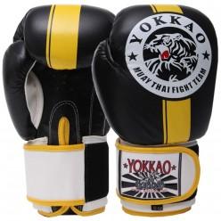 Перчатки боксерские кожаные YOKKAO YK016