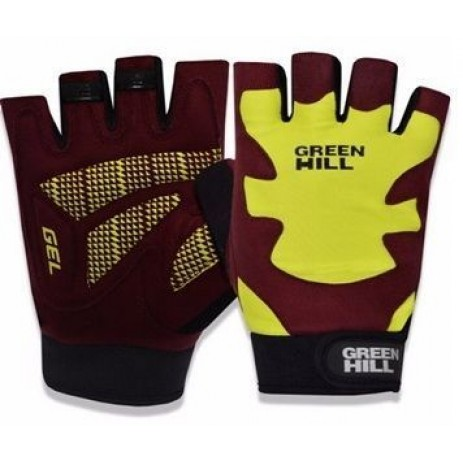 Перчатки для фитнеса Green Hill WLG-6535
