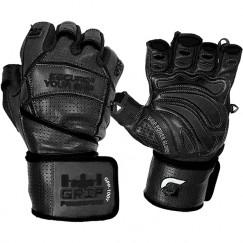 Перчатки для фитнеса Grip Power Pads Premium Leather