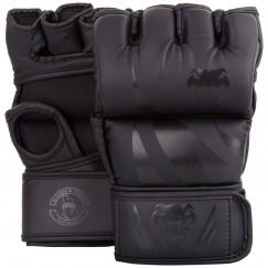 Перчатки ММА Venum Challenger Without Thumb Black Black
