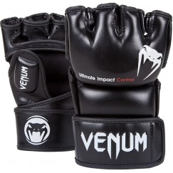 Перчатки ММА Venum Impact Black