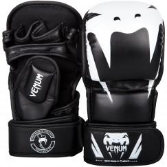 Перчатки ММА Venum Impact Sparring Black White