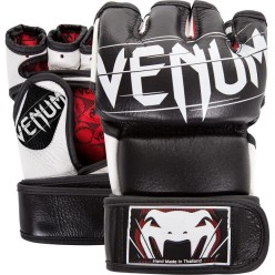 Перчатки ММА Venum Undisputed 2.0 Nappa Leather Black