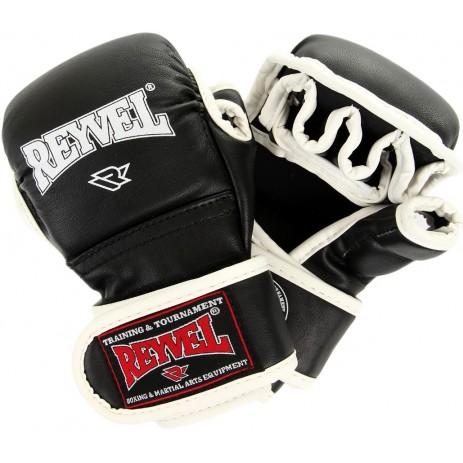 Перчатки тренировочные ММА Reyvel (винил)