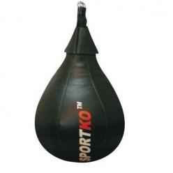 Боксерская груша каплевидная Sportko ГК3 (кожа, 12кг)