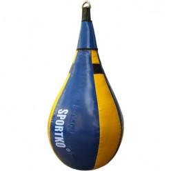 Боксерская груша каплевидная Sportko ГП4 (ПВХ, 15кг)