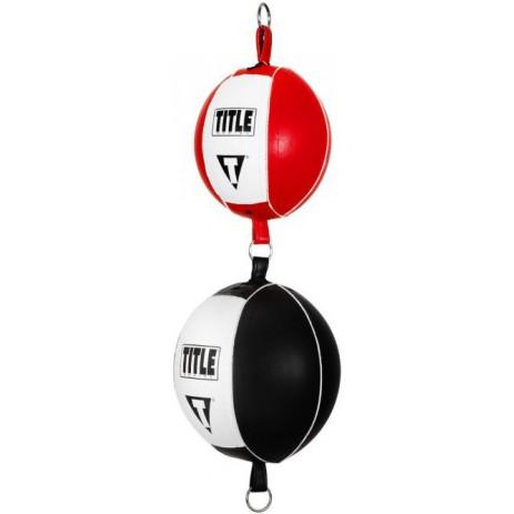 Пневмогруша двойная на растяжках TITLE Boxing Up & Down