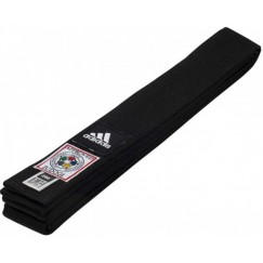 Пояс для дзюдо Adidas Elite IJF (черный, ADIB242J)