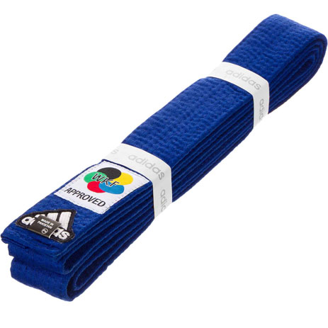 Пояс для карате Adidas Elite WKF (синий)