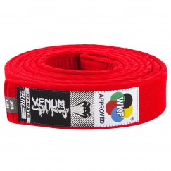 Пояс для карате Venum WKF Red