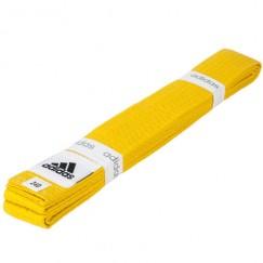 Пояс для кимоно Adidas Club (желтый)