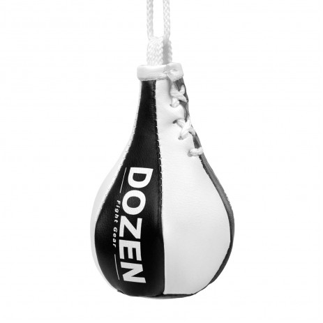 Брелок мини-груша Dozen Light Mini Speed Bag Black/White