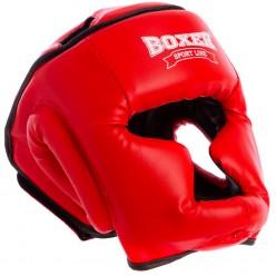 Шлем тренировочный каратэ Boxer Элит (кожвинил)
