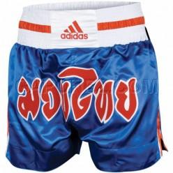Шорты для тайского бокса Adidas Blue