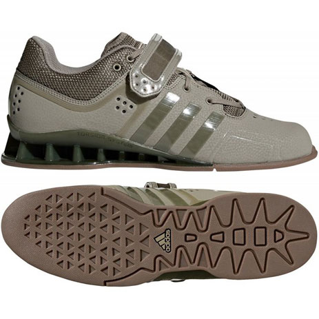 Штангетки Adidas Adipower (зеленые, DA9874)