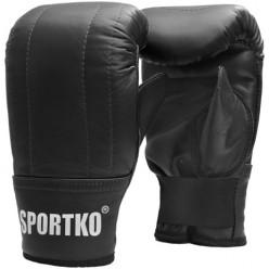 Снарядные перчатки кожанные SPORTKO ПК3