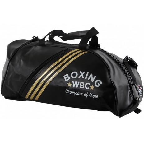Сумка-рюкзак с белым логотипом Adidas WBC (ADIACC051WB)
