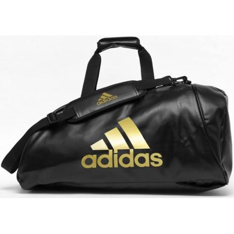 Сумка-рюкзак с золотым логотипом Adidas WAKO (ADIACC051WAKO)