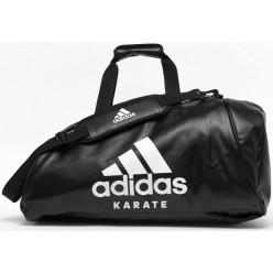 Сумка-рюкзак с белым логотипом Adidas Karate (ADIACC051K)