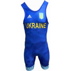 Трико для борьбы Adidas Ukraine UWW 1